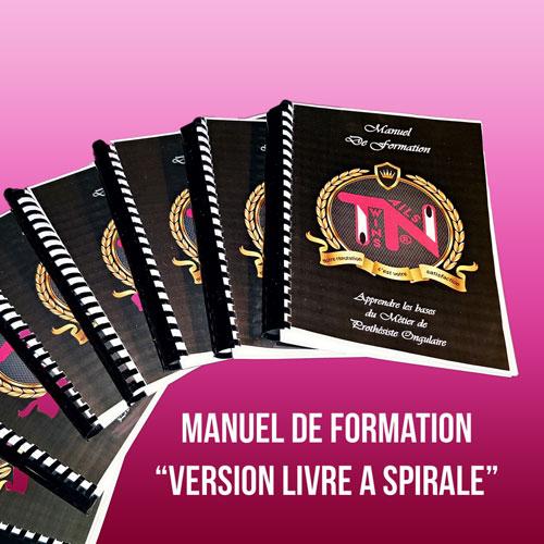 manuel de formation imprimé