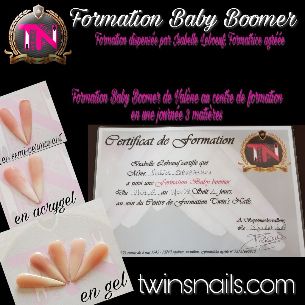 formation prothesiste ongulaire baby boomer